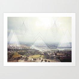Hampi Art Print