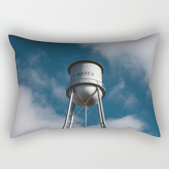 Marfa Water Tower Rectangular Pillow