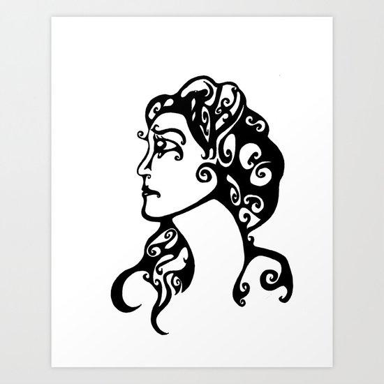 Gypsy Sorrow Art Print