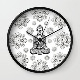 Buddha,HOME DECOR, 2,Graphic Design,Home Decor,iPhone skin,iPhone case,Laptop sleeve,Pillows,Bed,Art Wall Clock