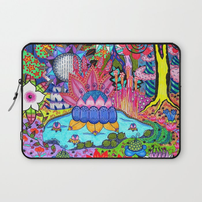 Pond Abstract Laptop Sleeve