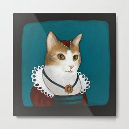 Kitty - Antoinette Metal Print