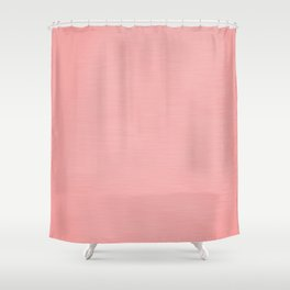 Blush Pink Streaky Hand Painted Watercolor Shower Curtain