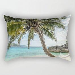 the beach of dreams Rectangular Pillow