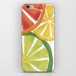 Citrus iPhone Skin