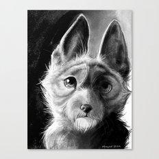 Roscoe-Roo Canvas Print