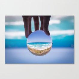 Crystal Beach 2 Canvas Print