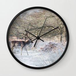 Fallow deer - Richmond Park Wall Clock