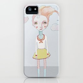 Cotton Candy Head in the Clouds iPhone Case