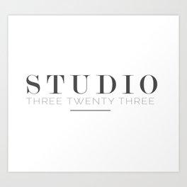 Studio Three Twenty Three Art Print