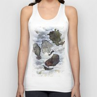 ship Tank Tops featuring Ship by Andreas Derebucha
