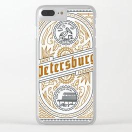 """Always In Season"" - Copper Clear iPhone Case"