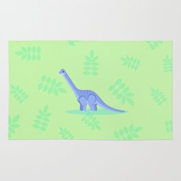 Brontosaurus, There When You Can't Reach the Shelf Above the Fridge Rug