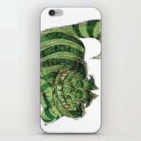 cheshire iPhone & iPod Skins featuring Cheshire by Albert F. Montoya