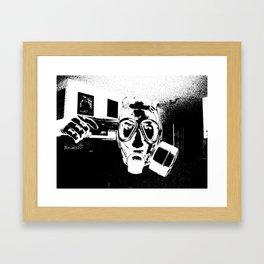 Nothing Left B&W Framed Art Print