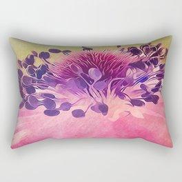 Flat Flower Cartoon Rectangular Pillow