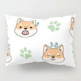 Chibi shiba's Pillow Sham