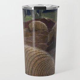 Vintage Armadillo Painting (1909) Travel Mug