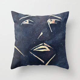 The Astronaut Throw Pillow