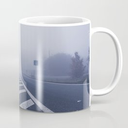 A road in the morning mist Coffee Mug