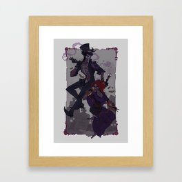 Baron Samedi and Maman Brigitte Framed Art Print