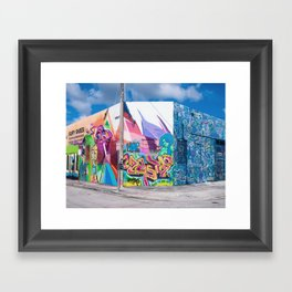 Tattooed Walls form Wynwood Miami Grafitti 3 Framed Art Print
