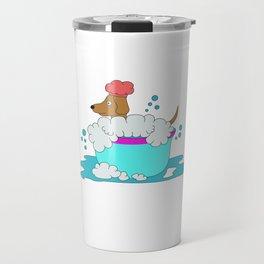 Funny & Cute Weiner Tshirt Designs Always wash your weiner Travel Mug
