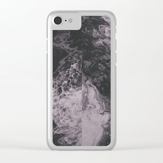 Obscurity Clear iPhone Case