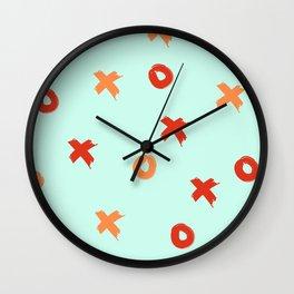 XOXO Love // Nautical Color Schemem Wall Clock