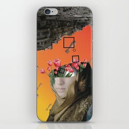 Flower of Syria iPhone Skin