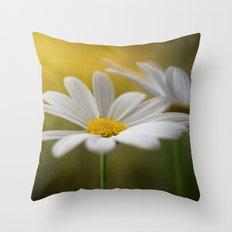 Daisy duet Throw Pillow