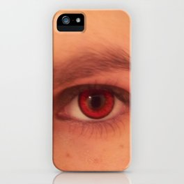 look into my eye iPhone Case