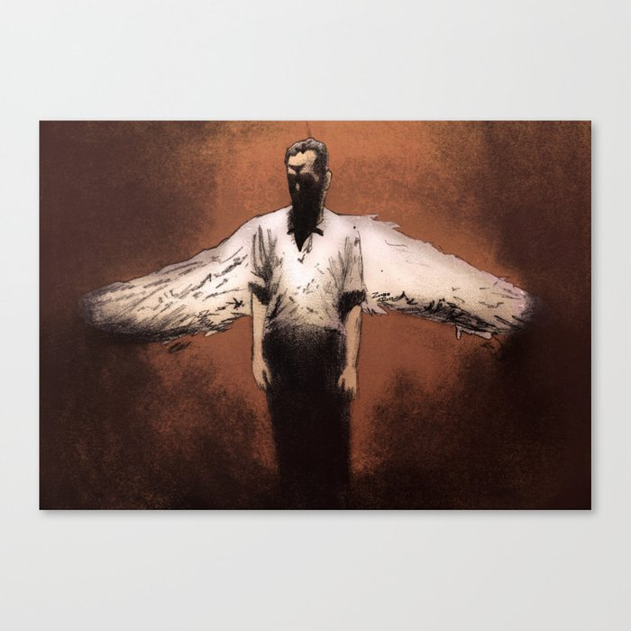 Losing My Religion Canvas Print