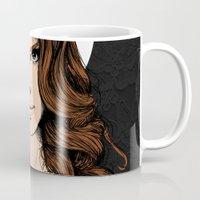 lana Mugs featuring LANA. by paintparamore