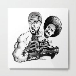 Jacka and the Mac named Dre Metal Print