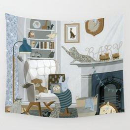Baby Animal Nursery Wall Tapestry