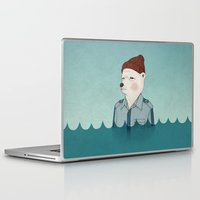 murray Laptop & iPad Skins featuring Bill Murray - Life Aquatic by Drivis