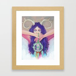 """Dreams""  Framed Art Print"