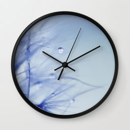 Feeling blue Wall Clock