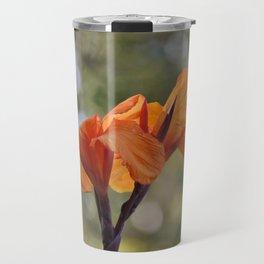 Focused Orange Travel Mug