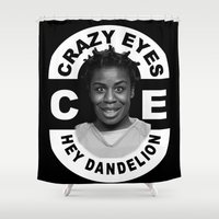 oitnb Shower Curtains featuring Hey Dandelion by SwanniePhotoArt