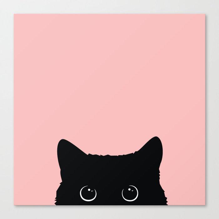 Black Cat Leinwanddruck