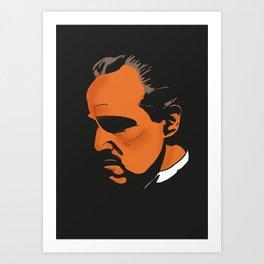Vito Corleone - The Godfather Part I Art Print