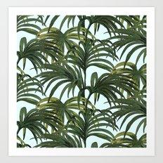 #tropical Art Print