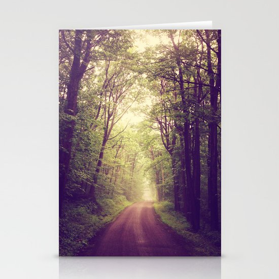 The Sound of Fog Coming Down Stationery Cards