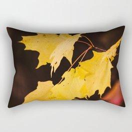Yellow maple leaves Rectangular Pillow