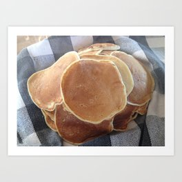 Pancakes, Good Ol'Fashioned Art Print