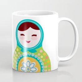 babushka doll matryoshka Coffee Mug