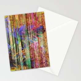 350 Abstract Iridescent Botanical Stationery Cards