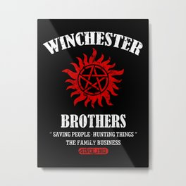 Winchester Brothers Metal Print